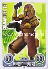 Star Wars Force Attax  Commander Jet #039