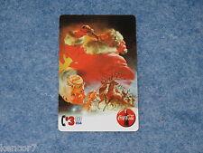 1995 Coca Cola Santa Sprint $3. Phone Card Serial #10000 Collect-A-Card E1571