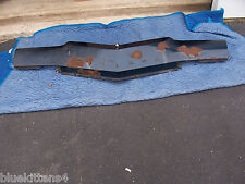 1974 BUICK RIVIERA HEADER PANEL OEM USED GM PART HAS WEAR NEEDS REFINISHING