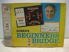 Gorden's Beginners Bridge 1967 Card Game Learn How From Milton Bradley     gm125