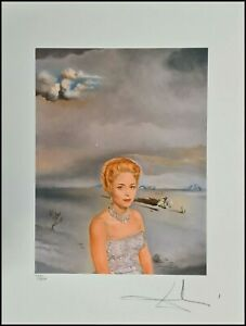 SALVADOR DALI * Rosemary Chisholm * 50 x 60 cm * signed lithograph * limited