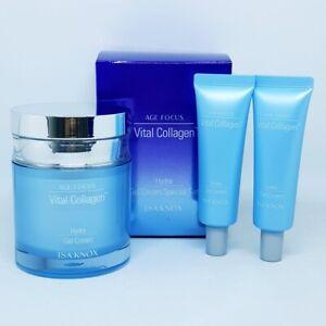 ISA KNOX Age Focus Vital Collagen Hydra Gel Cream Set Moisturizing K-Beauty