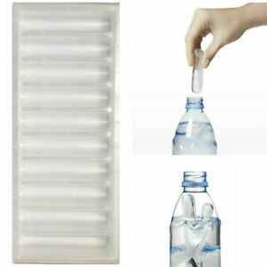 1 Bottle Ice Stick Tray Fits For Water Ice Cubes Mould Ice Cream Maker Clear