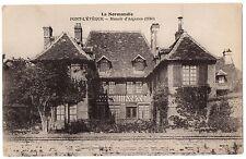 CPA 14 - PONT L'EVEQUE (Calvados) - Manoir d'Argence (1640)