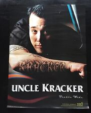 "Uncle Kracker ""Double Wide"" U.S. Promo Poster - Kid Rock Dj, Rock Hip Hop Music"