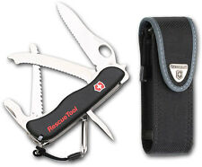 Victorinox Swiss Army Rescue Tool 14 Functions S. Steel Implements Black Handle