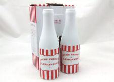 Robert Gordon Porcelain Red White Stripe Lemonade Bottles designed in Australia