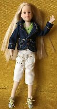 "RARE ~ ONLY HEARTS CLUB OHC 9"" DOLL Long Blonde Hair Blue Eyes - Clothes - Shoes"
