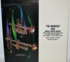 Mount Carmel Area High School Band 1969 The Mounties Concert LP Paul P. Semicek