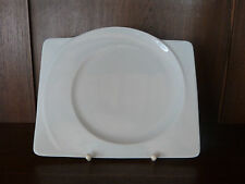 6 Frühstücksteller 25cm eckig Paso weiß von Seltmann Weiden