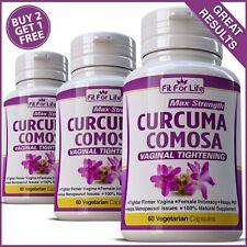 CURCUMA COMOSA VAGINAL TIGHTENING HERBAL PILLS TIGHTER STOP ODOR PMS CAPSULES