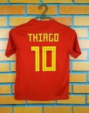 Thiago Spain Jersey 2018 Shirt Youth 9-10 BR2713 Football Adidas Trikot Maglia