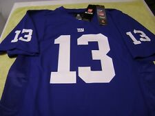 NEW YORK GIANTS ODELL BECKHAM JR. BLUE JERSEY YOUTH LARGE  NEW NFL