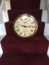 Reproduction  Large Wooden Wall Clock - Jones And Co London