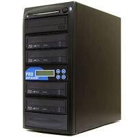 ProDuplicator 1-4 Multiple BDXL Blu-ray Burner Duplicator M-Disc CD DVD Copier