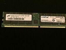 New* Crucial / Micron MT36VDDF25672Y-335F3 PC2700R-25331-Z 2GB
