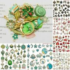 31pcs/Pack Alloy Enamel Series Pendant Charm DIY Jewelry Findings-Mixed Assorted