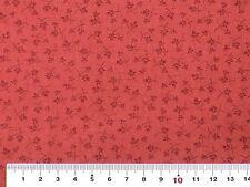 Stoff Makower Uni Itsy Bits für Tilda Puppenstoffe rosa altrosa rot Blümchen