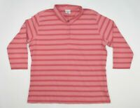 Vintage Columbia Sportswear Company Striped Polo Rugby T-Shirt Women's Size XL