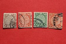 1897 China stamp coiled dragon USED