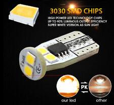 2pcs T10 3030 Side Marker Amber Yellow LED Lights Bulb 194 168 175 W5W 2825
