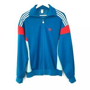 Vintage 70s Adidas Ventex France Blue Track Jacket Blue Men's Size: Extra Large