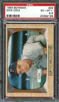 1955 BOWMAN #28 DICK COLE PSA 6.5 PIRATES CENTERED  *K2808