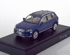 Volkswagen VW Touareg Année 2015 Bleu 1 43 Herpa