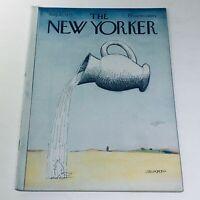 The New Yorker: August 25 1975 Saul Steinberg Cover Full Magazine