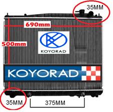 Radiator Nissan Terrano 2 R20 ZR50 2.7L TD27ETI Turbo Diesel 1993-1999 New KOYO