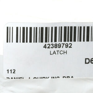 OEM NEW 2012-2020 GM Chevrolet Sonic Glove Box Handle Latch Asm Black 42389792