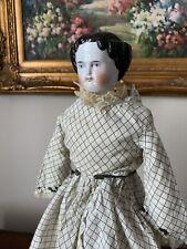 Fabulous Antique 20 Inch Kister Bannana Curl China Limbs Head Doll ALL ORIGINAL