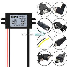DC-DC 12V to 5V Mini Micro USB Single Dual Converter Step Down Power Module
