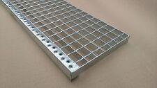 Gitterrost Podest mit Sicherheitsantrittskante  700 x 240 30x2 Schweißpressroste