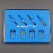 1 Box Dental Fiber Set 20 Pcs Fiber Post With 4 Drills Glass Straight Pile Resin