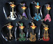 2009 California Destination Imagination Guitars DI Trading Pin Set
