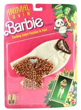 MATTEL VINTAGE BARBIE CLOTHES ANIMAL LOVING BARBIE SAFARI FASHION AND FUN