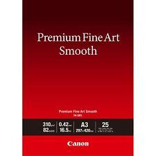 Canon FA-SM1 Premium Fine Art Smooth Paper A3 25 Sheets 1711C003