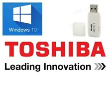 TOSHIBA Windows 10 Home USB System Recovery Media Disk Drive