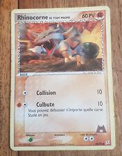 Carte Pokémon RHINOCORNE DE TEAM MAGMA 60 PV 68/95 EX Team Magma VS Team Aqua