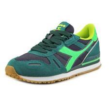 Zapatillas deportivas de mujer de tacón bajo (menos de 2,5 cm) de color principal verde sintético