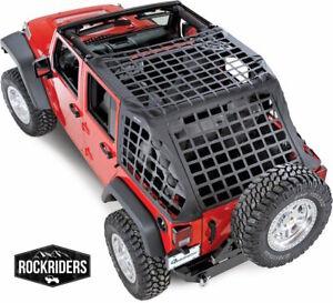 581035 Cargo Restraint System CRES Netting Cover 2007-17 Jeep Wrangler 4-Door JK