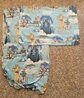 Star Wars Empire Strikes Vintage Sheets Fabric Bedding Twin Flat Fitted Craft