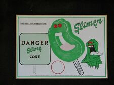 """1980'S VINTAGE/ORIGINAL GHOSTBUSTERS """"SLIMER"""". COLUMBIA PICTURES SIGN. NM/MINT."""