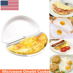 Egg Omelet Wave Microwave Maker Pan Non Stick Breakfast Easy Cooking Gadgets