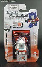 RATCHET Transformers G1 Mini Figurine + 3D Puzzle Piece 30th Anniversary Goldie