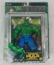 HULK THE MOTION PICTURE: PUNCHING HULK ACTION FIGURE with WALL PUNCHING ACTION
