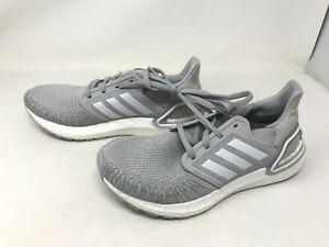 Womens Adidas (FX8282) UltraBoost 20 Grey Sneakers (406R)