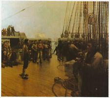 The Convict Ship, Sir Frank Brangwyn sea print  in 10 x 12 inch mount SUPERB