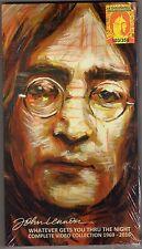 John Lennon Beatles- Complete Video Collection  1969-2016  4 DVD   Box Set